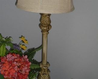 1 of 2 matching table lamps