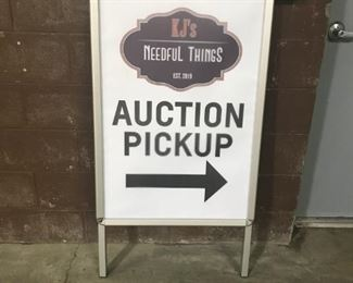 Auction Pickup - 4/14 and 4/18 as long as MI executive order is lifted on 4/13; otherwise we can ship or hold your winning items for you.