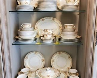 ANOTHER SET OF CHINA (SERVICE FOR 10)