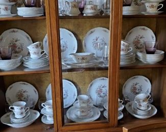 ANOTHER SET OF CHINA (SERVICE FOR 12)
