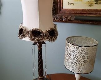 ELECTRIC LAMP AND CANDLE LAMP