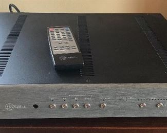 $750 - KRELL KAV-300i 2-channel integrated amplifier with power cord, remote & original box.