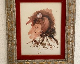 Steve Polomchak Watercolor $20  **CALL (847) 630-1009 TO PURCHASE**