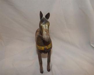 Item # J35   Vintage Wind-up Jumping Horse   $15.00