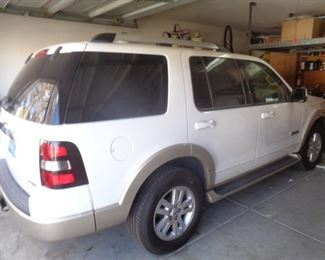 2007 Ford Explorer V8, with 65,000 miles