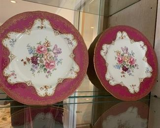 Staffordshire plates - $30/each or best offer.