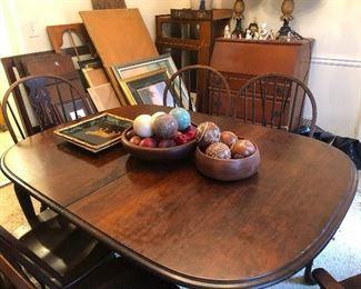 orbs on a table