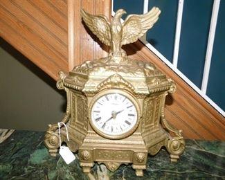 Olympus Brass Italian clock with German movement