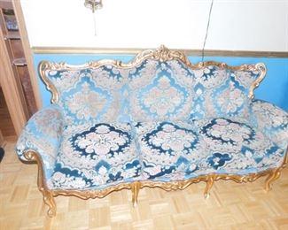 "Italian 6""8-inch Handcrafted Sofa"