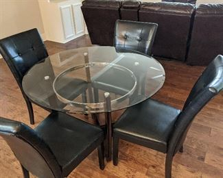 $150 for table and four chairs