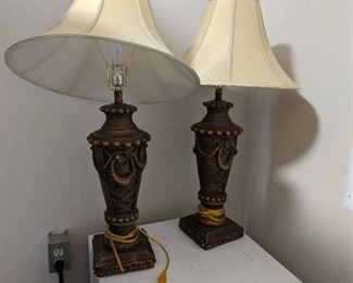 Lamps $28 for pair