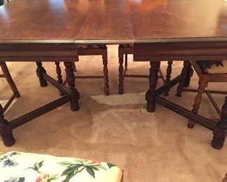 Vintage Gate Leg Dining Table