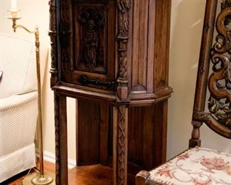 (another view of vestry / vestment cabinet)
