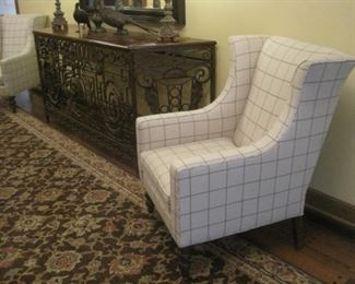 Armchairs by Temple Furniture.