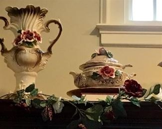MORE CAPODIMONTE DECOR &  TUREEN