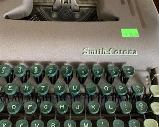 smith corona typewriter works 35.00