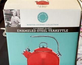 Martha Stewart Teakettle