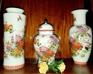 Shibata Vases & Urn