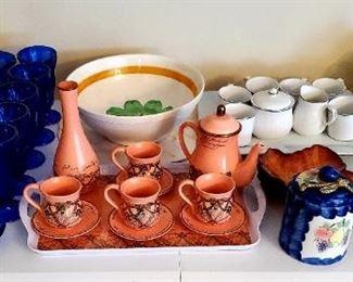 Dishware; China Tea Sets