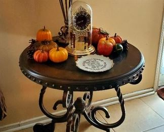 Side Tables; Fall Decor