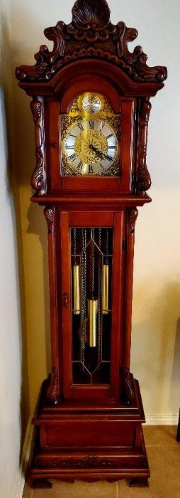 Tempus Fugit Grandfather Clock