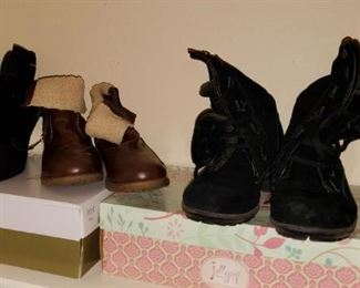Barely Worn Woman's Shoes - Size 10 (most pairs still with Box