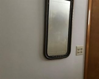 Antique etched mirror