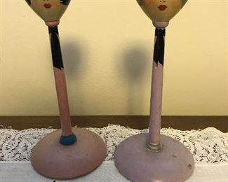 Antique hat stands