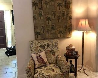 Pretty little seating corner - ready for you and a good book!