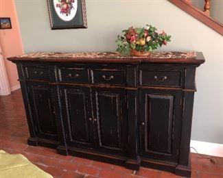 $675 High end heavy modern farmhouse sideboard or buffet.  Lots of storage! New condition.