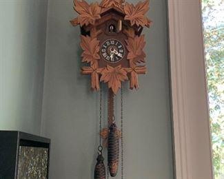 Cuckoo clock $100
