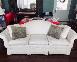 $425 Camel back sofa