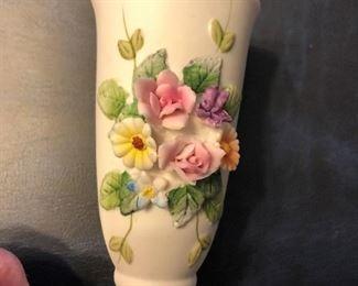 Lefton China Bud Vase