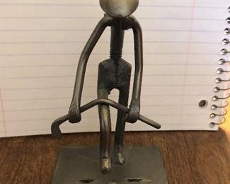 Orville Mengedoht Metal Sculpture