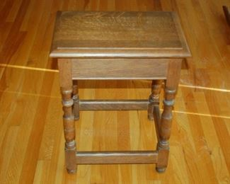 """Small side table, 18""""W x 12""""D x 23"""" H"""