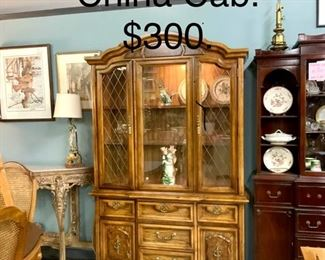 China cab reduced  buy whole set for  $1100.