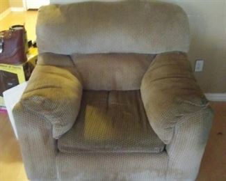 Chair has a matching couch.