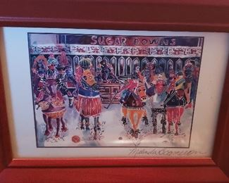 Arkansas artist framed print