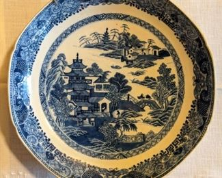 Antique Asian porcelain plate from Jane Marsden Antiques.