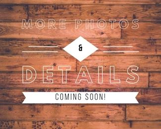 Stay tuned! We're anticipating hundreds of photos for this sale!