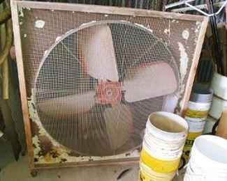 Large Box Fan with new motor