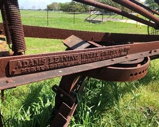 Adams Leaning Wheel Grader No. 111,