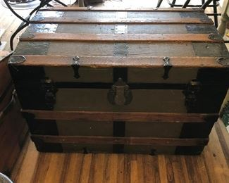 Antique Steam Trunk