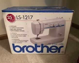 Brother sewing machine LS-1217 - $50
