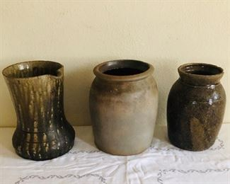 Crawford county pottery and salt glazed pottery