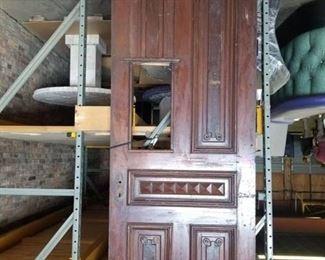 Heavy Duty Wood Door