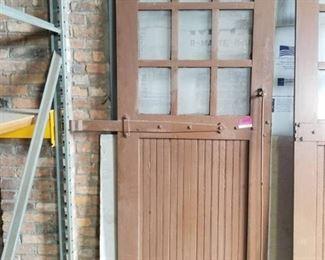 Antique Garage Door
