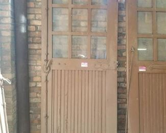Antique Wood Garage Door