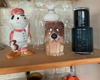 The dog stein is sold.