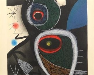 "Joan Miro ""Le Somnambule"" or The Sleepwalker.  #6 from the edition of 50"